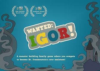 Wanted: Igor!