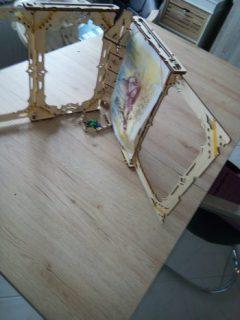 Spielleiterschirm mit Würfelturm
