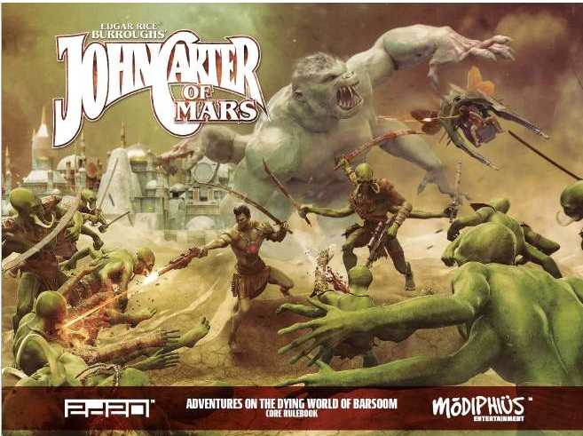 John Carter of Mars RPG